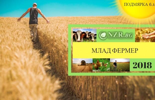 Млад фермер 2018 – Всички изисквания за Подмярка 6.1